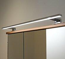 Badleuchte Spiegellampe LED 230Volt / AN2051KW / Chrom kalt weiß Schranklampe Aufbauleuchte Spiegelleuchte Möbelbeleuchtung Vitrinenbeleuchtung Schrankbeleuchtung