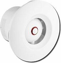 Badlüfter Lüfter Ventilator Deckenlüfter mit Hygrostat und Timer ∅100mm WXO100H