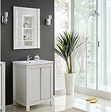 Badezimmermöbel Weiß Landhaus badmöbel landhaus günstig kaufen lionshome
