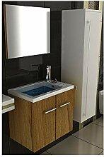 Badmöbel Design Komplett-Set mit Waschbecken,