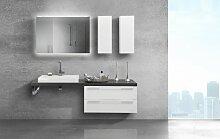Badmöbel mit modernem Waschbecken und Design