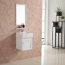 Badmöbel Set Cube Gäste WC Set Gästebad