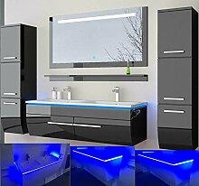 Badmöbel Set Doppelwaschbecken Waschbecken