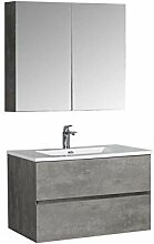 Badmöbel-Set EDGE 850 - Farbe wählbar -