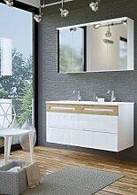 Badmöbel Set GALAXY 120 mit Doppelwaschbecken