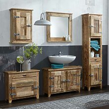 Badmöbel Set im Shabby Chic Design Mangobaum