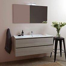 Badmöbel Set Mit 2 Auszügen Und 1 Waschbecken -