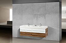 Badmöbel Set mit Doppelwaschtisch 160 cm