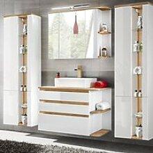 Badmöbel Set mit Keramik-Waschtisch CAMPOS-56,
