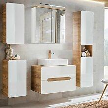 Badmöbel Set mit Keramik-Waschtisch LUTON-56