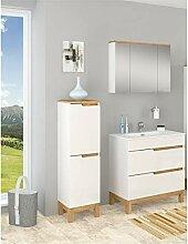 Badmöbel Set SPEK 80 mit Waschbecken Keramik