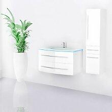 Badmöbel Set Waschbecken Badezimmer Touch