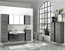 Badmöbel Set Waschtisch mit 2 Türen FLORIDO-03