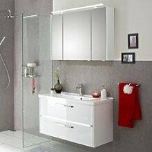 Badmöbel-Set Waschtisch & Spiegelschrank