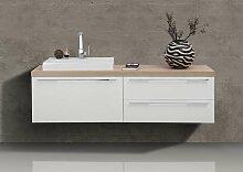 Badmöbel Set Waschtischplatte Waschtischkonsole