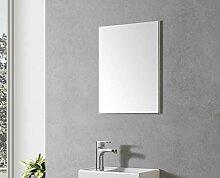 Badmöbel Spiegel VISITO 40 (weißer Rahmen)