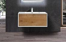 Badmöbel Unterschrank inkl. Waschtisch INDOLEO 60