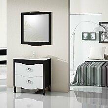 Badmöbel Vanity 80 cm - Silber