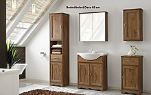 Badmöbelset Badmöbel Deco 65 cm mit Waschbecken