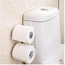 Badregal 2 Schichten Toilettenpapierrollenhaken