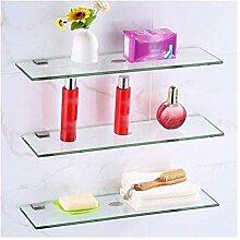 Badregal aus gehärtetem Glas mit 8 mm dickem Glas