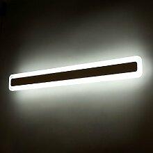Badspiegel Beleuchtung Spiegel Badezimmerspiegel Wandspiegel Led-Beleuchtung Lichtspiegel Warmweiß ,100cm 39w, 120cm 43w[Energy Class A+]