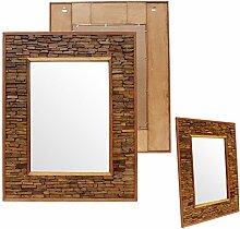 Badspiegel Holz Wandspiegel Holzspiegel Spiegel