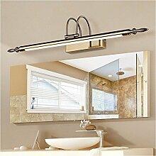 Badspiegel Lampe Lampe LisaFeng vor dem Spiegel und Badezimmer, Spiegel container Leichte wasserdichte LED-Licht, 56cm Spiegel