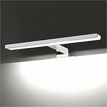 Badspiegel Lampe LisaFeng LED Aluminium Körper und Acryl Lampenschirm, moderne Wasserdicht Beschlagfrei Wandleuchte, 60CM, weißes Lich