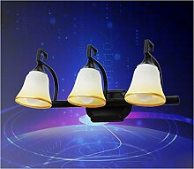 Badspiegel Lampe LisaFeng Sepia vor dem Spiegel lampe Spiegel Lampe, drei Gehäuse, 50 cm