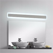 Badspiegel Lampe LisaFeng wc Spiegel lampe led Acryl Spiegel schränke Lampen Licht im Badezimmer wasserdicht Beschlagfrei, 52 cm