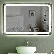 Badspiegel LED beleuchtet | London (100x70)