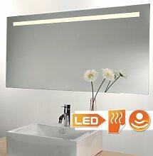 Badspiegel LED beleuchtet mit Sensor und Heizung