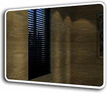 Badspiegel Lichtspiegel Kupfer / bleifreie Spiegel