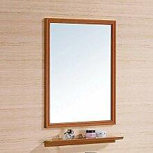 Badspiegel mit Ablage 50×70 cm Badezimmerspiegel