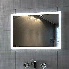 Badspiegel mit Beleuchtung 50 x 70 cm LED Spiegel