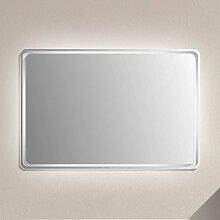 Badspiegel mit Glasrahmen LED Beleuchtung