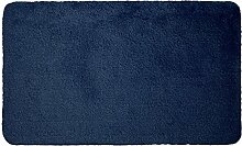 Badteppich Badematte Badvorleger Marine - blau