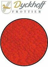 Badteppich Badematte Badvorleger rot 70/120 cm von