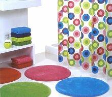Badteppich Badmatte Badvorleger Duschvorleger Form