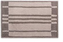 BADTEPPICH Beige, Graphitfarben, Grau 60/90 cm