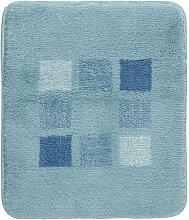 BADTEPPICH Blau, Grün, Türkis 50/60 cm