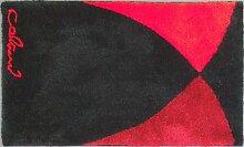 Badteppich Colani 39, 80 x 140 cm, rot, 2425794007