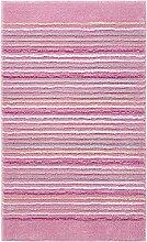 Badteppich Cool Stripes Farbe: Rosa, Größe: 55