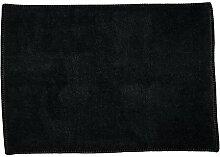 Badteppich Erick Sommerallee Farbe: schwarz