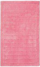 Badteppich Line Egeria Farbe: Rosa
