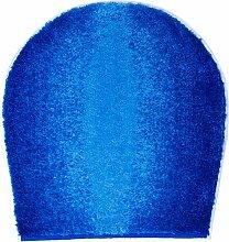 Badteppich Moon Grund Farbe: Blau