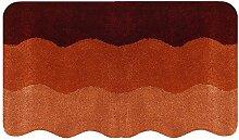 Badteppich SWING in terracotta von BATEX