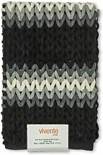 Badteppich Tresse SGreenandSons Farbe: Schwarz