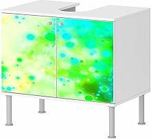 Badunterschrank Badezimmer Bunte Farben Designer Schrank schickes Design NEU 100BADU018